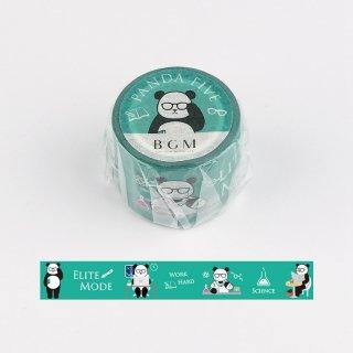 PANDA FIVE マスキングテープ ・パンダグリーン