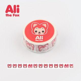 Ali マスキングテープ ・Aliフェイス