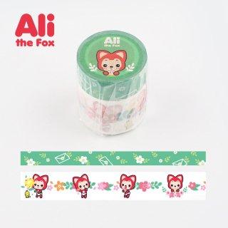 Ali マスキングテープ セット・Aliフラワー