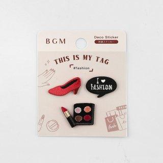 BGM 刺繍ステッカー「 マイタグ・ファッション 」