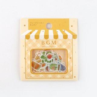 フレークシール【 キッチン 】15デザインx3 枚