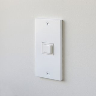 SML スイッチ/コンセントプレート ホワイト