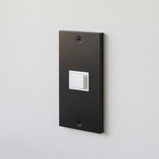 SML スイッチ/コンセントプレート ブラック