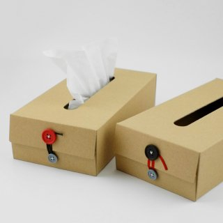 craft_one concrete craft Button Tissue Box
