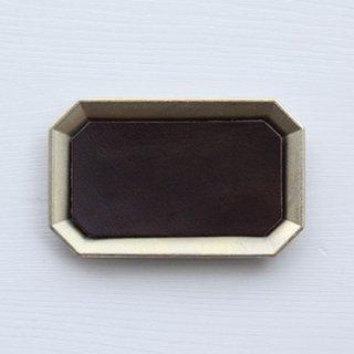 FUTAGAMI 真鍮トレー用レザーマット M