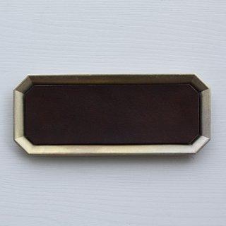 FUTAGAMI 真鍮トレー用レザーマット L