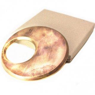 FUTAGAMI 真鍮製 鍋敷き 月