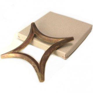 FUTAGAMI 真鍮製 鍋敷き 星