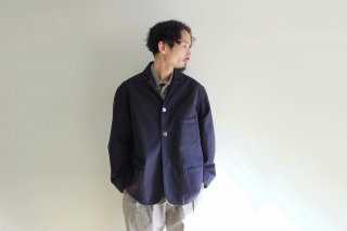 <img class='new_mark_img1' src='https://img.shop-pro.jp/img/new/icons3.gif' style='border:none;display:inline;margin:0px;padding:0px;width:auto;' />SACK COAT-HERRINGBONE(NAVY)