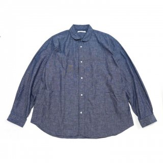 <img class='new_mark_img1' src='https://img.shop-pro.jp/img/new/icons3.gif' style='border:none;display:inline;margin:0px;padding:0px;width:auto;' />SIDE POCKET SHIRTS-CHAMBRAY(BLUE)
