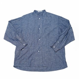 <img class='new_mark_img1' src='https://img.shop-pro.jp/img/new/icons3.gif' style='border:none;display:inline;margin:0px;padding:0px;width:auto;' />CP GATHER  SHIRTS-CHAMBRAY(BLUE)