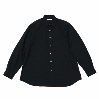 <img class='new_mark_img1' src='https://img.shop-pro.jp/img/new/icons3.gif' style='border:none;display:inline;margin:0px;padding:0px;width:auto;' />REGULAR FIT GATHER SHIRTS-CHAMBRAY(BLACK)