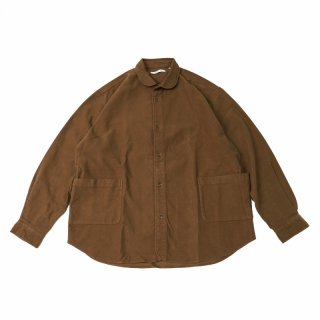 <img class='new_mark_img1' src='https://img.shop-pro.jp/img/new/icons3.gif' style='border:none;display:inline;margin:0px;padding:0px;width:auto;' />SIDE POCKET SHIRTS-SUEDE(CAMEL)