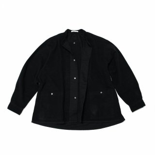 <img class='new_mark_img1' src='https://img.shop-pro.jp/img/new/icons3.gif' style='border:none;display:inline;margin:0px;padding:0px;width:auto;' />CP GATHER  SHIRTS-SUEDE(BLACK)