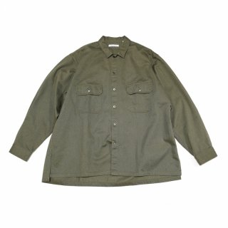 <img class='new_mark_img1' src='https://img.shop-pro.jp/img/new/icons3.gif' style='border:none;display:inline;margin:0px;padding:0px;width:auto;' />W POCKET SHIRTS-VINTAGE CHINO (OLIVE)