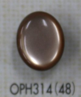 プラスチックボタン たまご型 4色 OPH314
