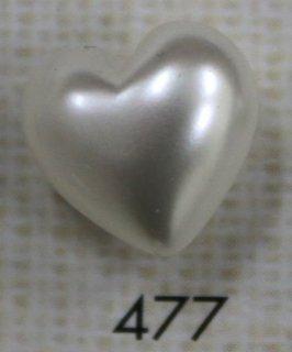 プラスチックボタン デザインボタン 477(W)