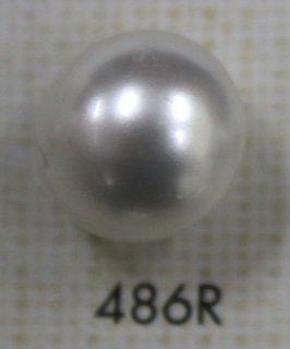 プラスチックボタン デザインボタン 486R(W)