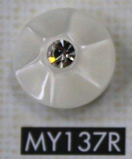 ラインストーンボタン MY137R