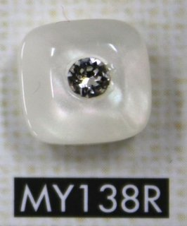 ラインストーンボタン MY138R