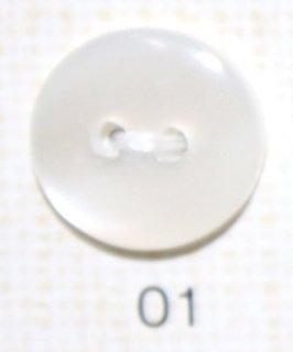 貝調ポリボタン 二つ穴 5色 NRS110