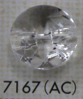 クリアーボタン トンネル足 透明 7167(AC)