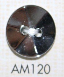 プラスチックボタン ミラー・透明・半透明 AM120