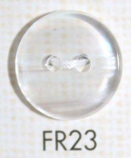 プラスチックボタン ミラー・透明・半透明 FR23