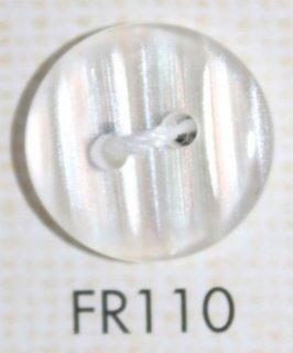 プラスチックボタン ミラー・透明・半透明 FR110