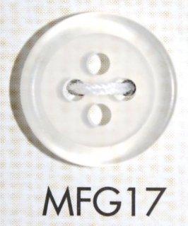 プラスチックボタン ミラー・透明・半透明 MFG17