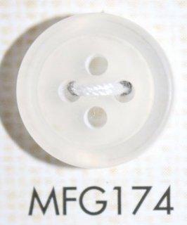 プラスチックボタン ミラー・透明・半透明 MFG174