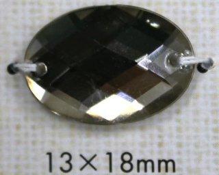 プラスチックボタン ミラー・透明・半透明 PR703