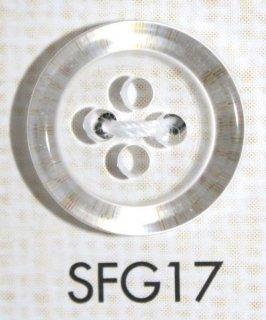 プラスチックボタン ミラー・透明・半透明 SFG17