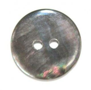 貝ボタン シェルボタン 黒蝶貝 No1502