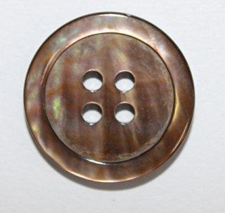 貝ボタン シェルボタン 茶蝶貝 No1704