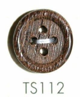 ウッドボタン(木ボタン) TS112