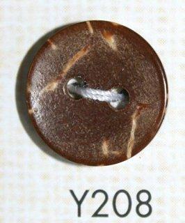 ウッドボタン(木ボタン) Y208