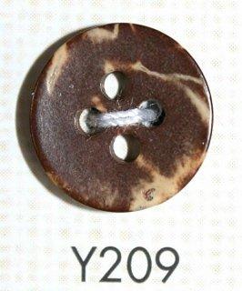 ウッドボタン(木ボタン) Y209