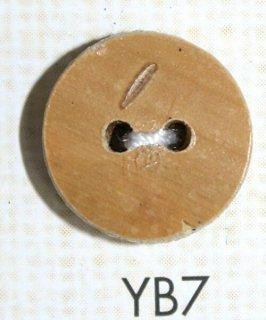 竹ボタン 二つ穴 YB7