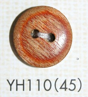 ウッドボタン(木ボタン) YH110(45)