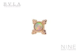 Mini Kandy (RG/White Opal)