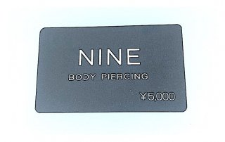 Gift Card ¥5,000