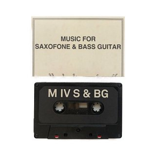 Music for Saxofone and Bass Guitar