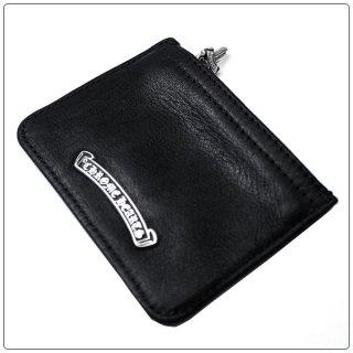クロムハーツ 財布(Chrome Hearts)ジッパーチェンジパース3×4 ブラック レザー【クロム・ハーツ】【クロムハーツ財布】【名古屋】