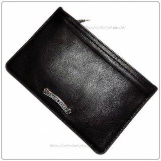 クロムハーツ 財布(Chrome Hearts)ウォレット ジッパーチェンジパース #2 ブラック ヘビーレザー 【クロム・ハーツ】【クロムハーツ財布】