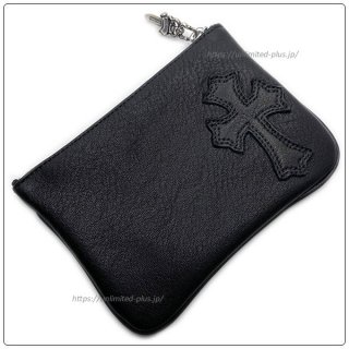 クロムハーツ 財布(Chrome Hearts)ジッパーチェンジパース 4×5 パイピングCEMEブラック レザーウォレット【クロム・ハーツ】【クロムハーツ財布】【名古屋】