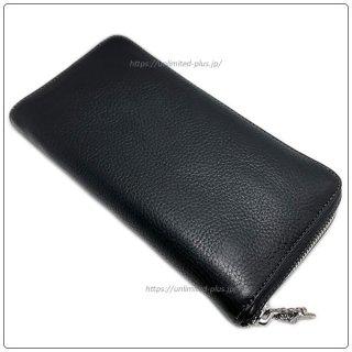クロムハーツ 財布(Chrome Hearts)REC F ZIP#2 プレーン ブラック ヘビーレザー【クロム・ハーツ】【クロムハーツ財布】【名古屋】