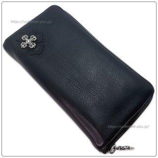 クロムハーツ 財布(Chrome Hearts)REC F ZIP#2 フィリグリープラス ブラック ヘビーレザー【クロム・ハーツ】【クロムハーツ財布】【名古屋】