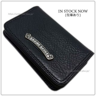 クロムハーツ 財布(Chrome Hearts)カードケース#2 GRMT/スクロールブラック ヘビーレザーウォレット【クロム・ハーツ】【クロムハーツ財布】【名古屋】