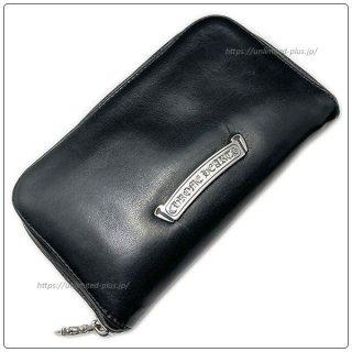 クロムハーツ 財布(Chrome Hearts)REC F ZIP ミニ ブラック ライト レザー【クロム・ハーツ】【クロムハーツ財布】【名古屋】